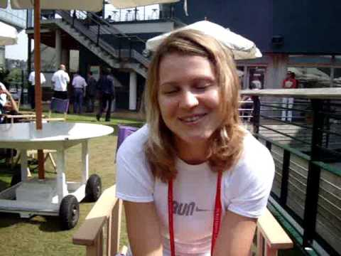 Wilson Tennis On Tour with Lucie Safarova at Wimbledon 2009 Video