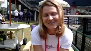Wilson Tennis On Tour with Lucie Safarova at Wimbledon 2009