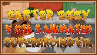 Easter Eggy v GTA 5 Animated - Superhrdinovia