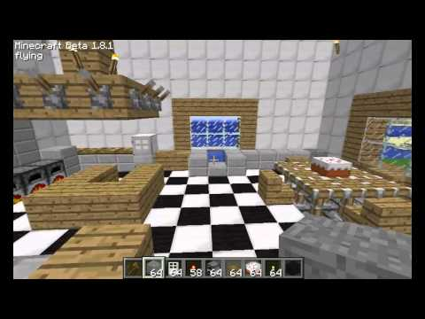 Minecraft bathroom design how to make do everything for Bathroom designs minecraft