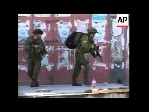 WRAP Israeli Army clashes with alleged militants as operation continues, ADDS shots