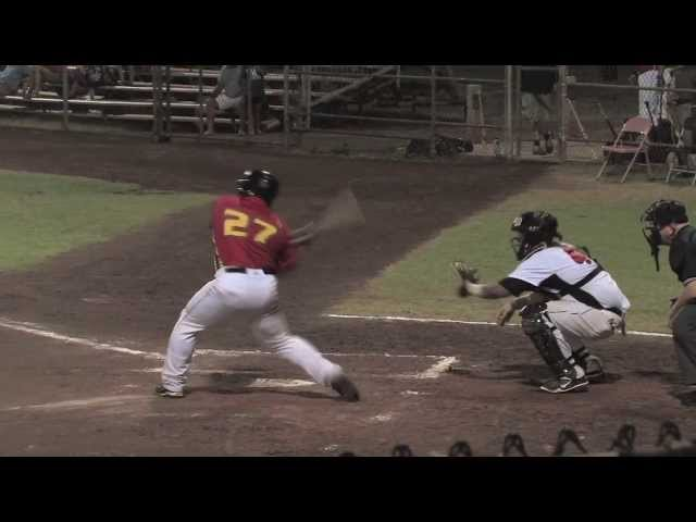 06/18 /13 Ray Serrano Interview Home Run - Na Koa Ikaika Maui vs. The Santa Rosa Rose Buds