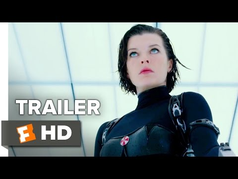 Resident Evil: The Final Chapter Official International Trailer 1 (2017) - Milla Jovovich Movie
