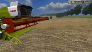 LS11, Claas Lexion 750, by MRA-Modding, Modtest #2, Modtest Nr.2, Mod, test, getestet, Claas, Landwirtschafts-Simulator 2011, Landwirtschafts-Simulator 2012, 2013, LS 2011, LWS 11, LWS11, LS 11, 500 Abonnenten-Special, Abonnenten, Special, Spezial, MRA Mo