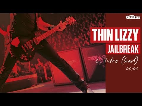 Guitar Lesson: Thin Lizzy 'Jailbreak' -- Part Two -- Intro (Lead) (TG217)