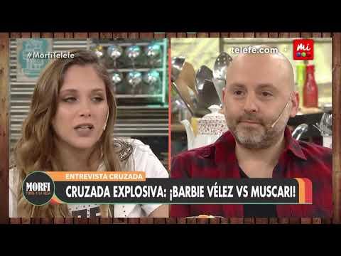 Entrevista cruzada Barbie Vélez y José María Muscari - Morfi
