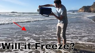 What Happens When You Freeze The Ocean? Pouring Liquid Nitrogen in the Ocean to Stop Global Warming