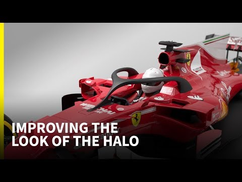 How can the look of the F1 halo be improved?