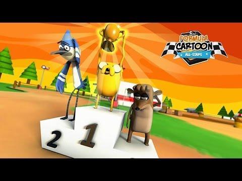 Descargar Formula Cartoon All Stars para Android Con dinero ilimitado // APK + Datos SD