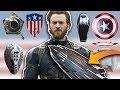 KAPTAN AMERİKA: YENİ KALKANIN GÜÇLERİ & DİĞER KALKANLARI - Avengers Infinity War