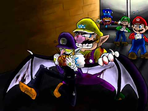 Vampire Waluigi Smells Like Teen Spirit YouTube