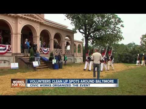 Civic Works' Day of Service and A Day at Clifton on WMAR