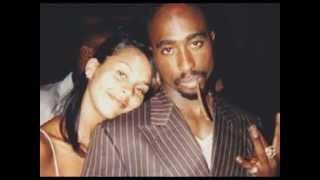 Tupac and Kidada Jones - A love story cut short