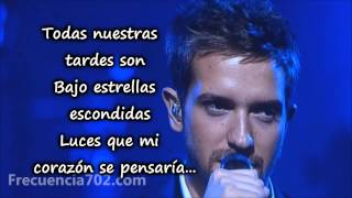 (Letra) Olvídame tú - Pablo Alborán - The Person of the Year 2013 - LatinGRAMMYs