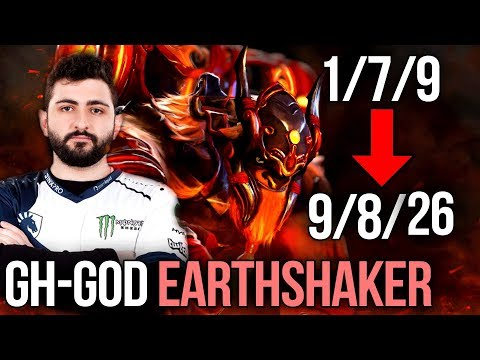 How to Play Earthshaker - GH-GOD STYLE - From LoL to GOD - Dota 2
