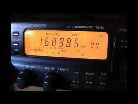 WLO Mobile Radio (Alabama, United States) - 16898.5 kHz (CW)