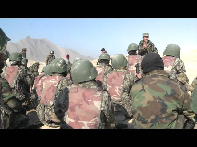 French Assist Afghan National Army
