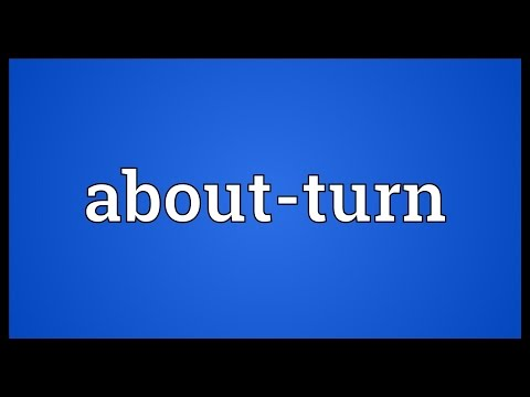 Header of about-turn