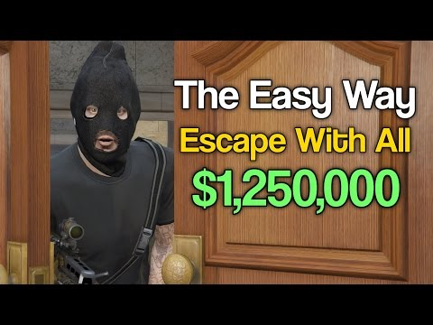 How To Beat The Pacific Standard Job The Easy Way - All Setups + Finale (GTA 5)