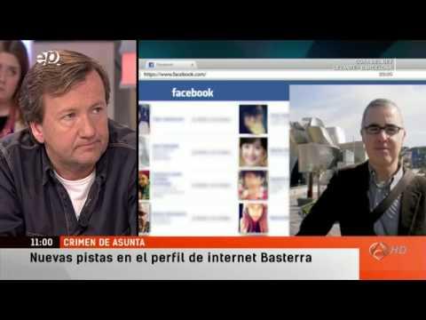 Facebook de Basterra en el caso Asunta. A3 Espejo Publico.