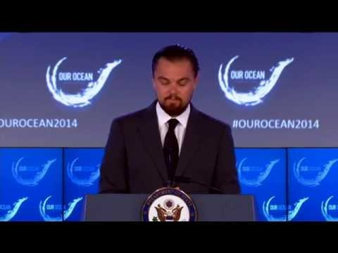 Leonardo DiCaprio Delivers Remarks at the Our Ocean Conference