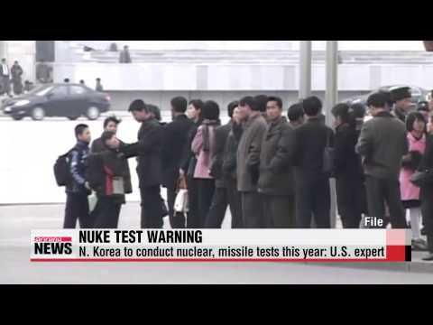 N. Korea to conduct nuclear, missile tests this year: U.S. expert 미 전문가들