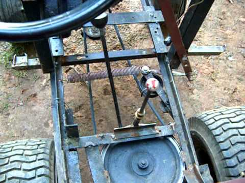 Homemade Lawn Tractor Youtube