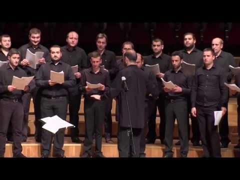 Trinity Cathedral Choir Concert At Tbilisi Music Cultural Centre Of Jansug Kakhidze video