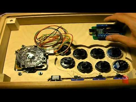 How to build a fightstick w/ a Cthulu PCB