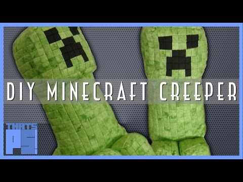 DIY Minecraft Creeper Plush