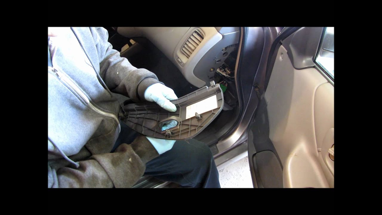 Clearing Honda Accord Check Engine Light Youtube