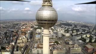 Berliner TV Tower Der Aufstieg F450 Quadrocopter