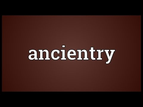 Header of ancientry