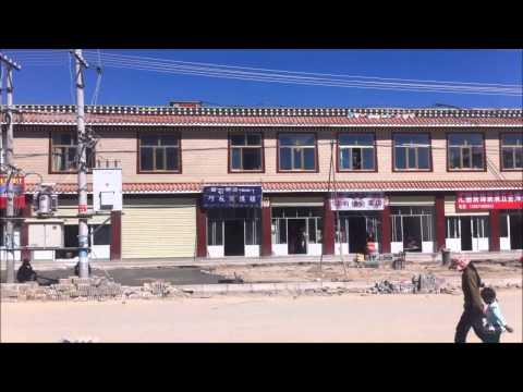 Golog, Tibet, August 2013, filmed by Dutch tourist