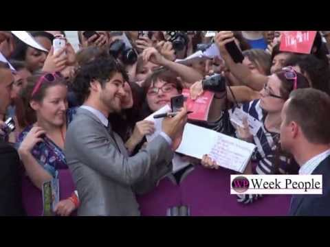 Darren Criss à Paris, interview au Champs Elysees Film Festival