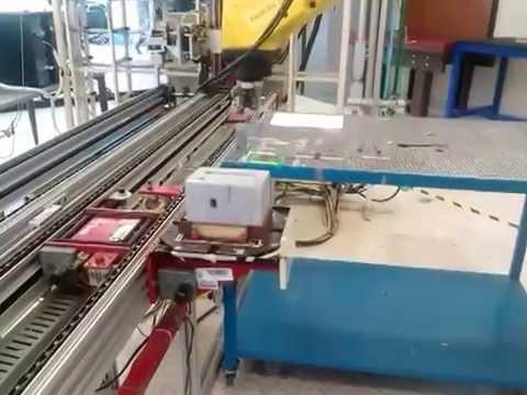 Camara de video, proyecto celda de manufactura