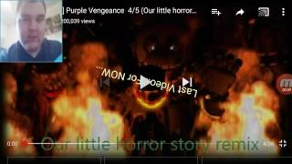 "IT'S BEEN AWHILE!!! || [FNaF SFM ] "" Purple Vengeance Part 4/5"" Animation Reaction!!!"