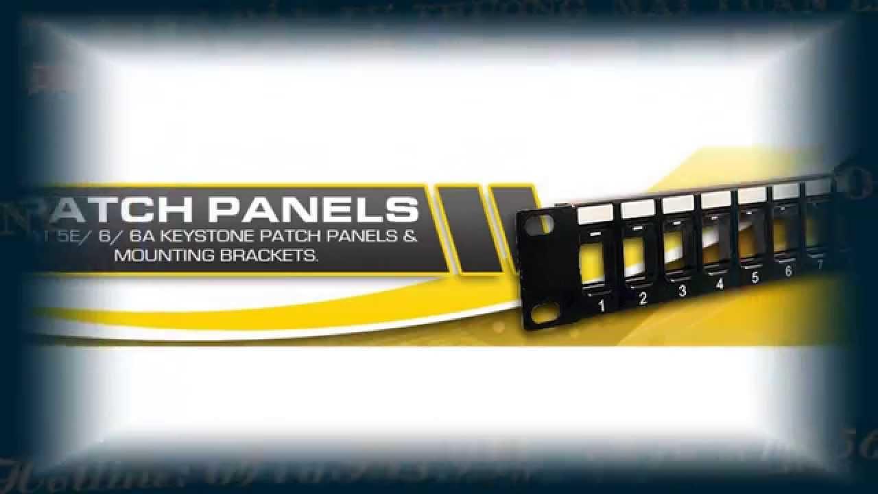 Patch Panel Amp Cat5 24 Port