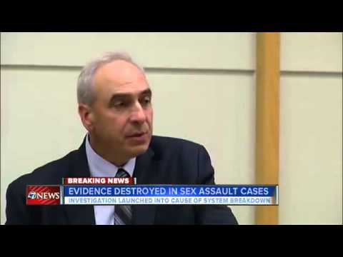 Aurora PD Chief: DNA evidence destroyed