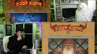 King's Quest 2 (1985) & King's Quest 3 (1986) - DOS Game Review - GeorgGreat