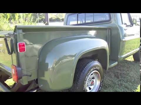 1969 Ford F100 Start Up, Exhaust, and In Depth Tour