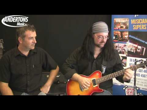 James Tyler Variax JTV-59 Guitar Demo and Overview - Part 5