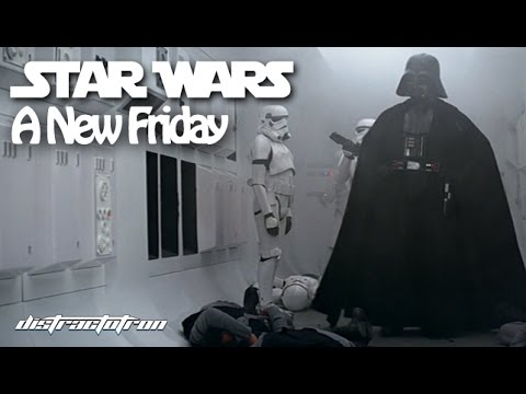 Star Wars: A New Friday - Part 1 (Star Wars Meets Friday Mashup)