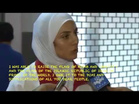 Muslim Female | Male ** Athletes proudly ignores shaking hand