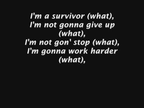 Destiny's Child - Survivor  Lyrics