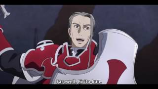Sword Art Online: Kirito vs Heathcliff (Eng Sub)