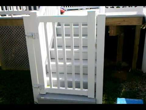 Pool Deck Safety Gate By Decks Nj Com Youtube