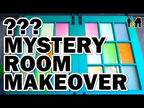 Mystery Room Makeover + We Build a Greenhouse! - Man Vs House Ep.2