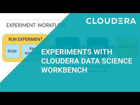 Experiments with Cloudera Data Science Workbench