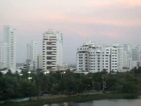 Día 29: Vista desde el departamento en Cartagena (Colombia)